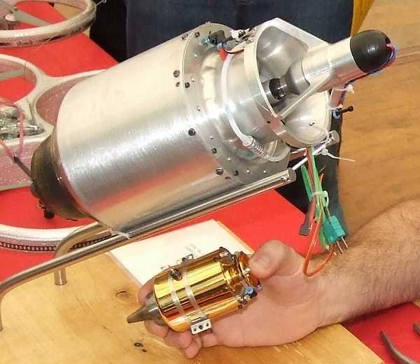 Воздушно реактивный двигатель своими руками фото 822